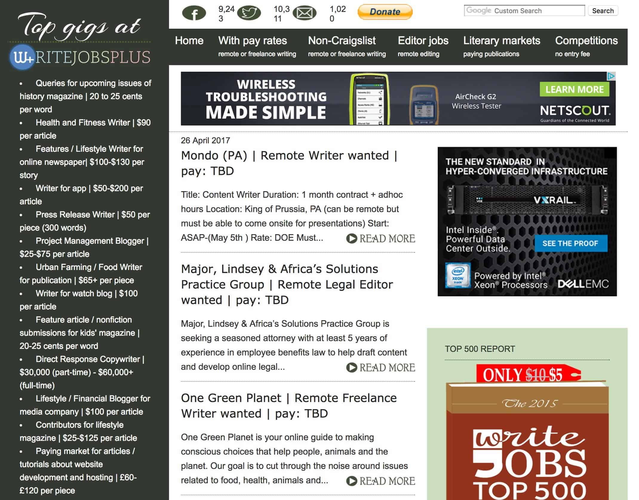 WriteJobs Content Writing