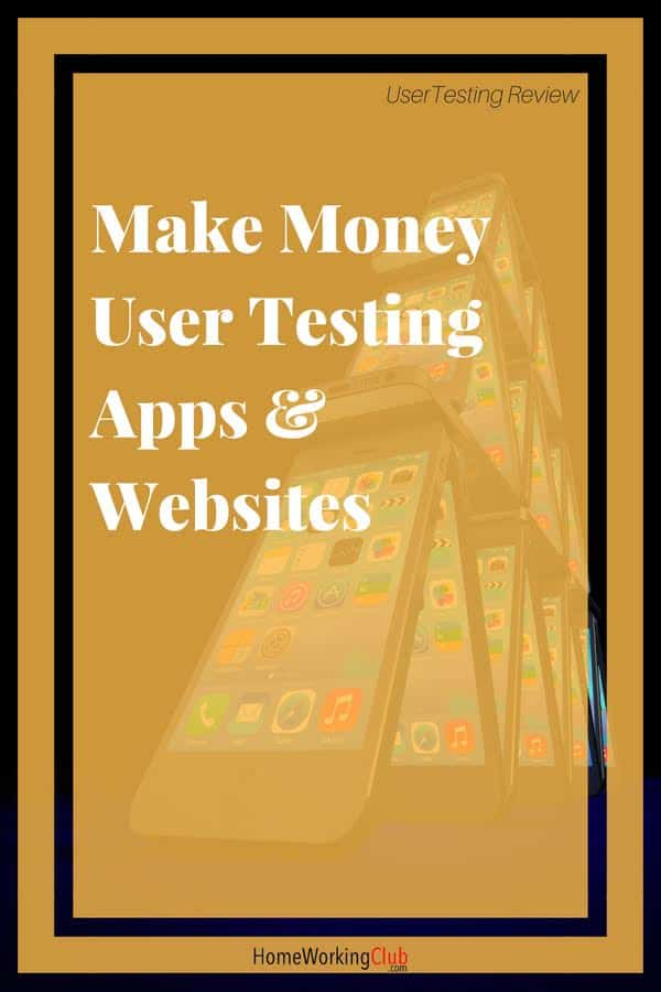I'm going to come straight to the point with this UserTesting review – this is one of my favourite ways of making money home working.