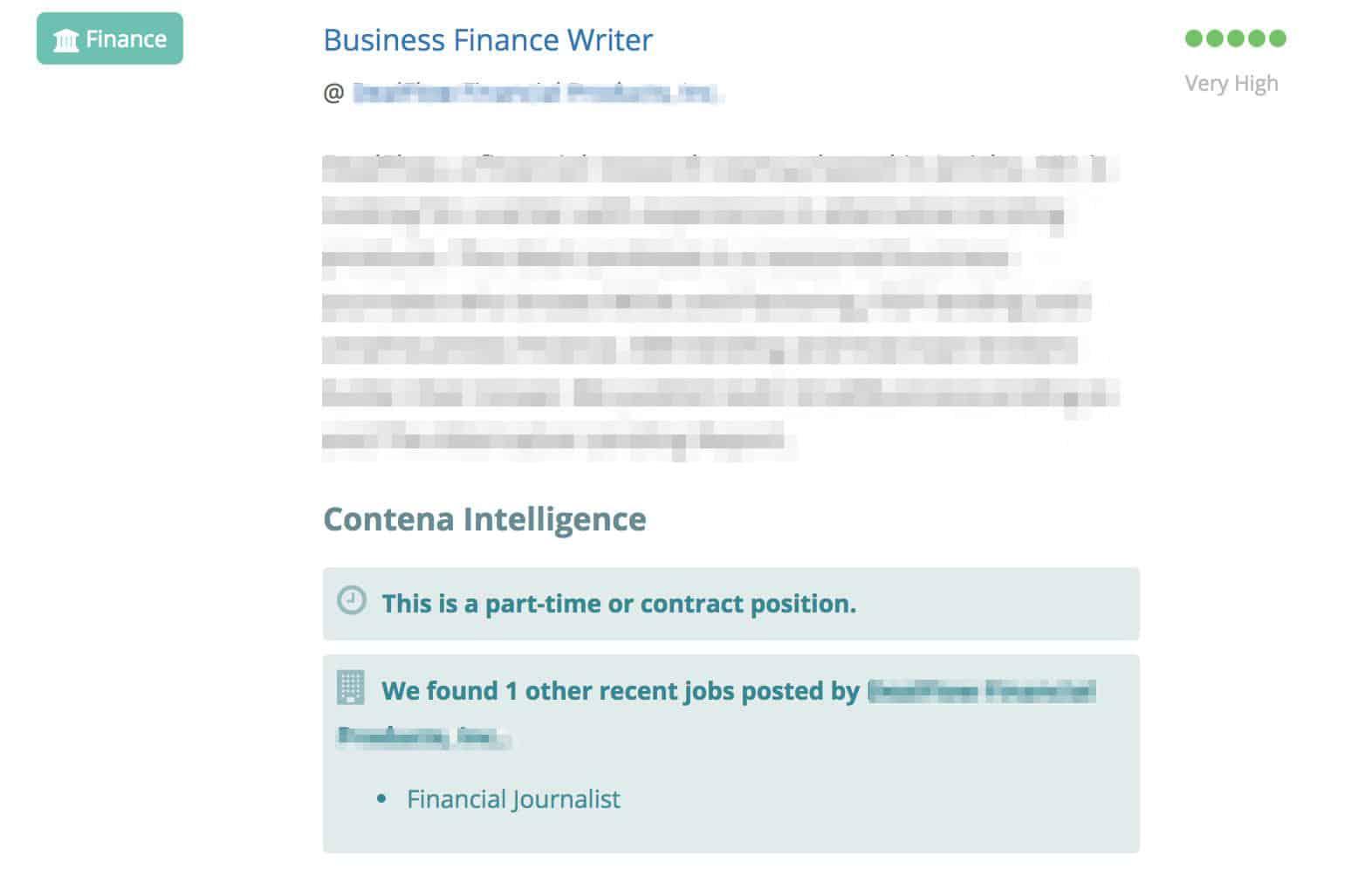 Contena Job Description