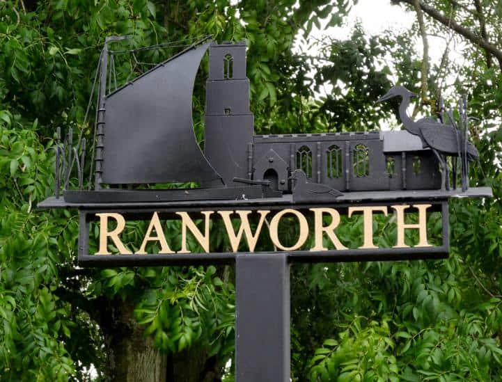 Ranworth Sign