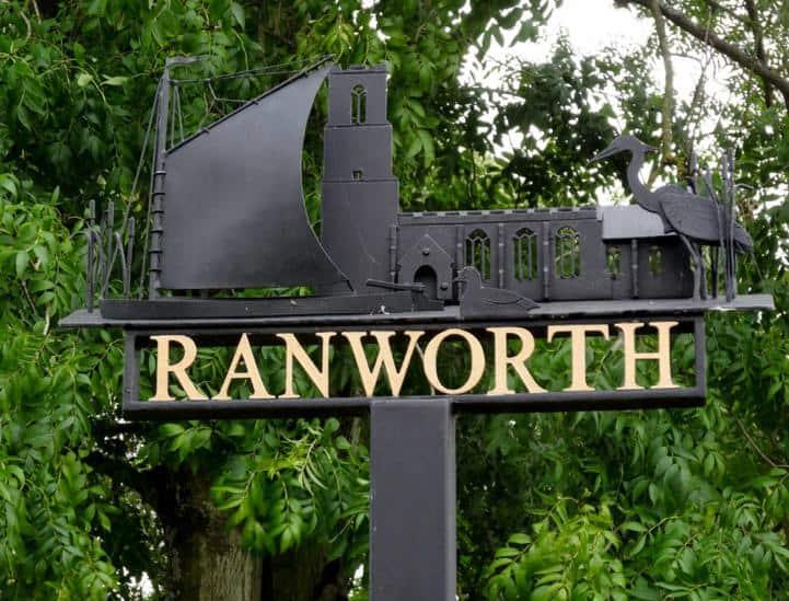 Ranworth Sign