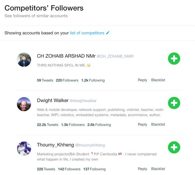 CrowdFire follow