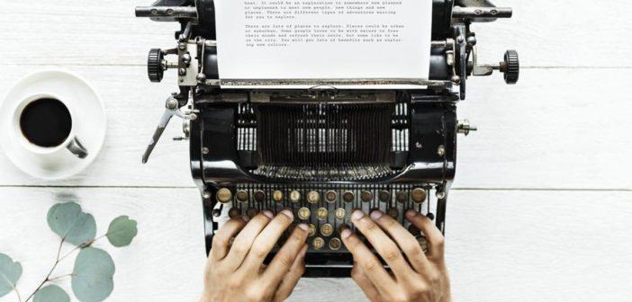 Being a writer