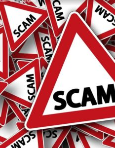 Work from home jobs scams