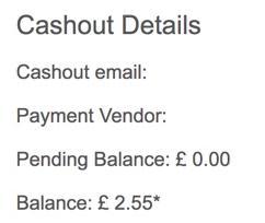 Prolific cashout