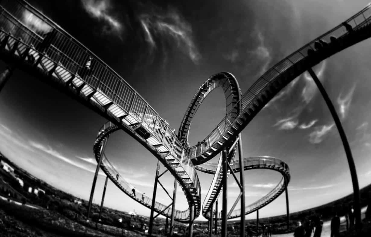 Freelance rollercoaster