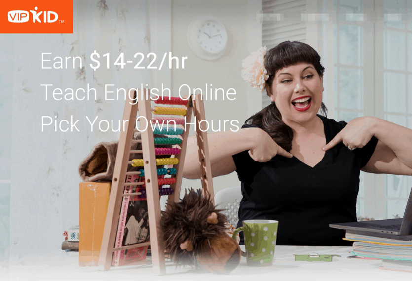 Teach English online and get paid at VIPKid