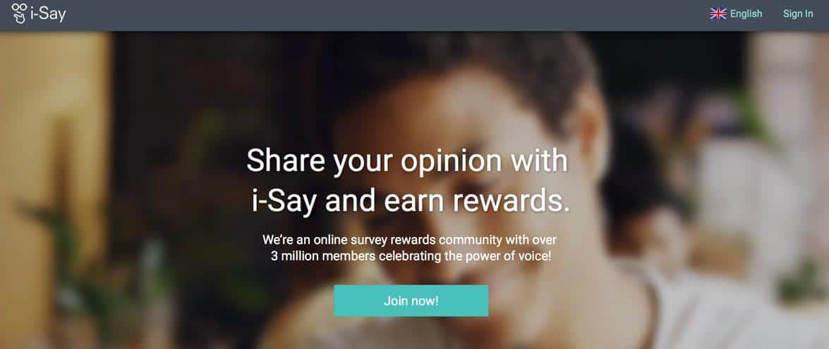 IPSOS iSay Surveys