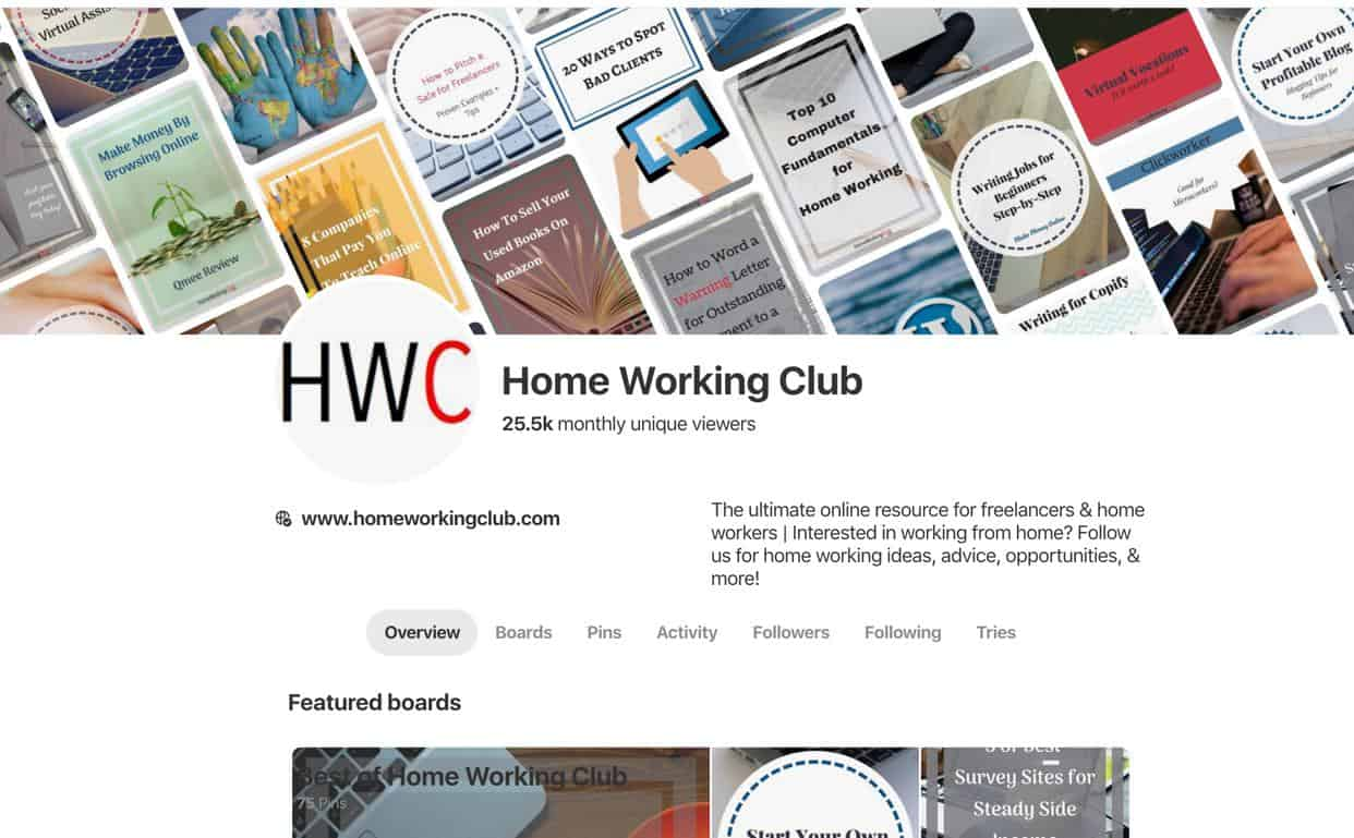 Pinterest HWC
