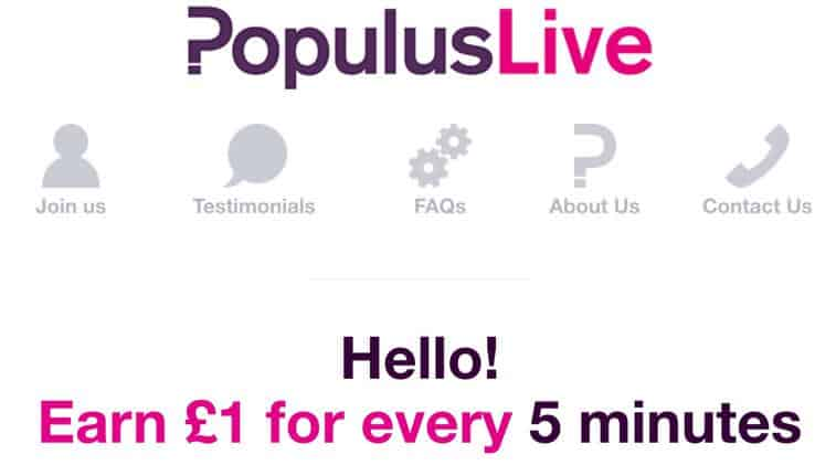 Populus Live surveys