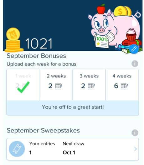 Receipt Hog Bonuses
