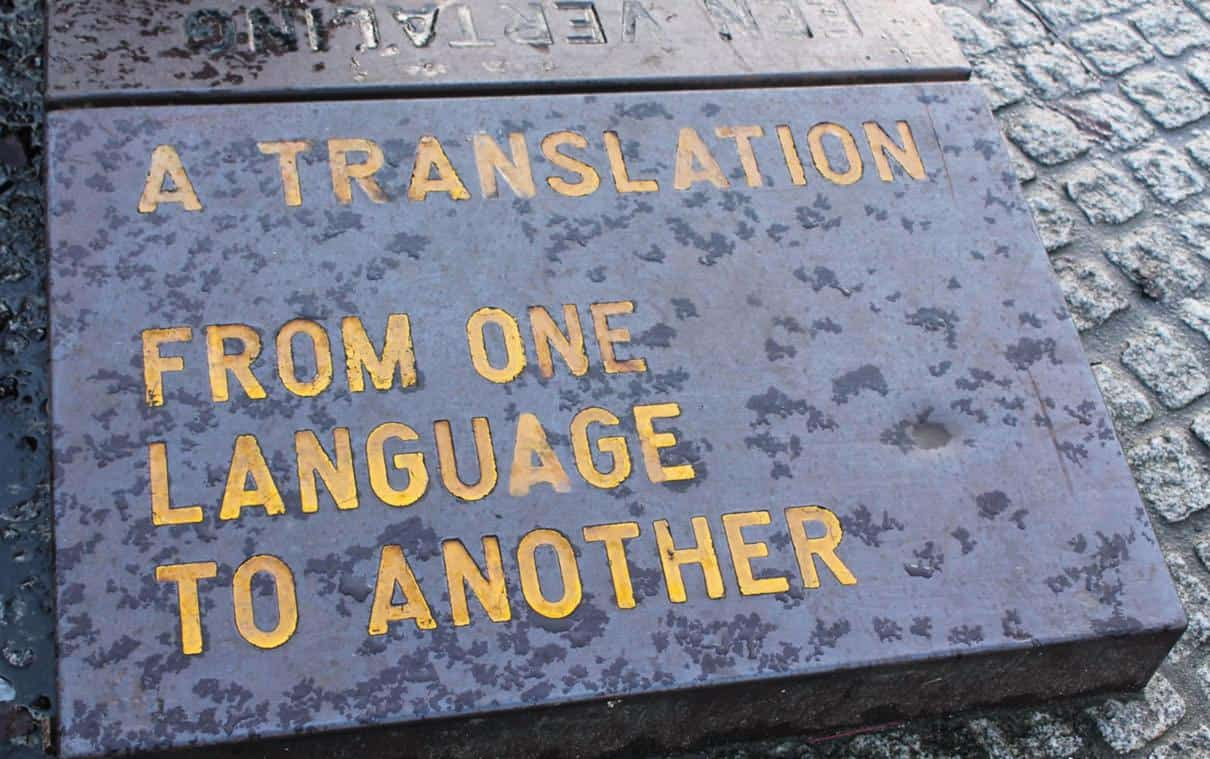 Translation work