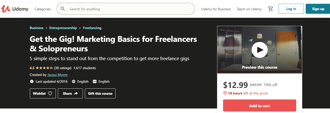 Udemy Course for Freelancers