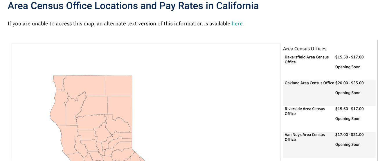 Census pay rates