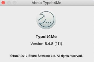 TypeIt4Me for Mac