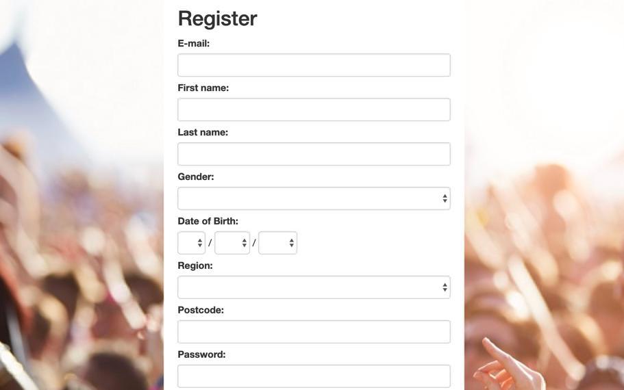 Opinium Survey Registration