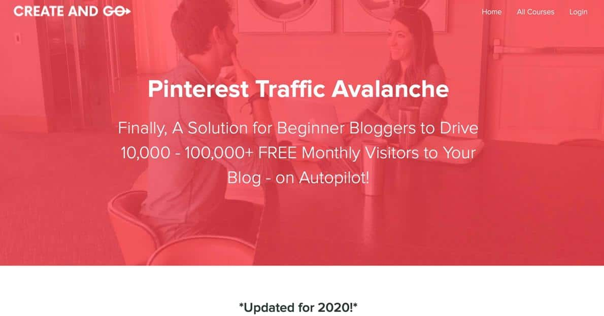 Pinterest Traffic Avalanche Review 2020