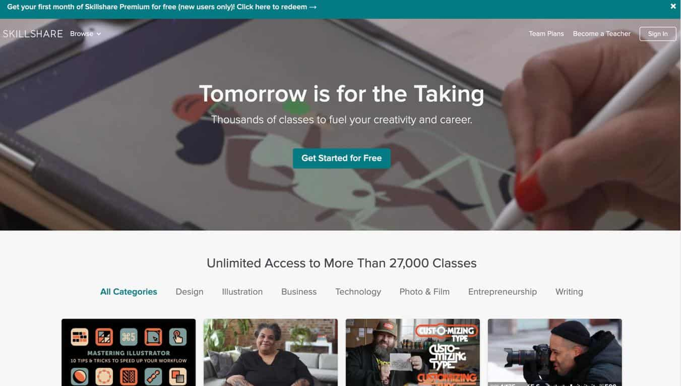 Skillshare Review: The Honest Truth, Good and Bad - HomeWorkingClub com