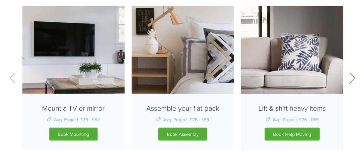 TaskRabbit Examples