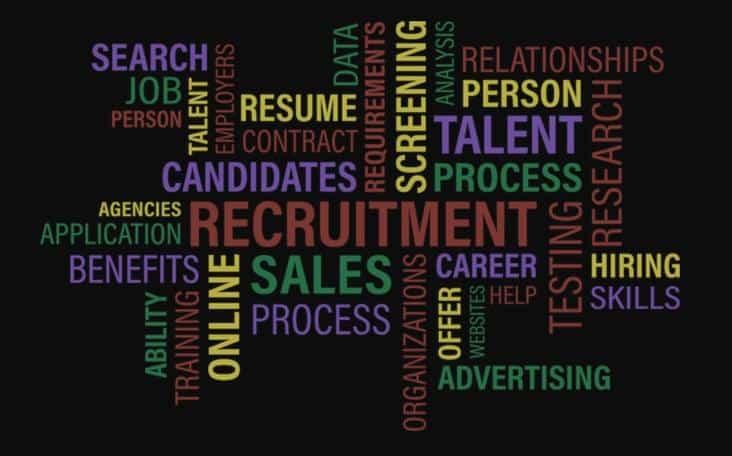 Working in recruitment