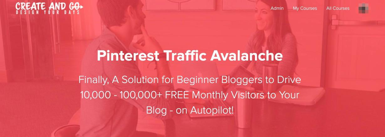Pinterest Traffic Avalanche