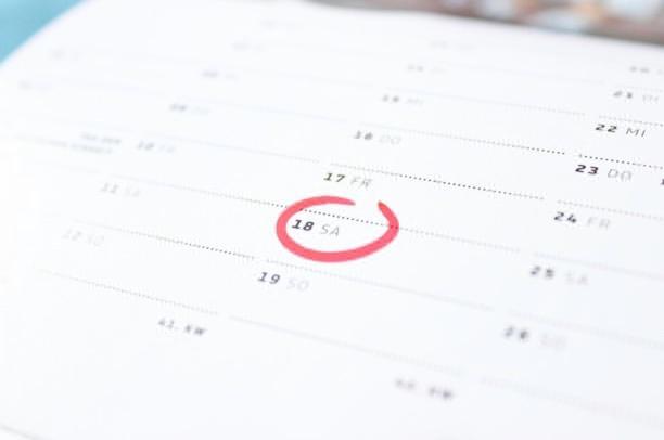 Calendar timing
