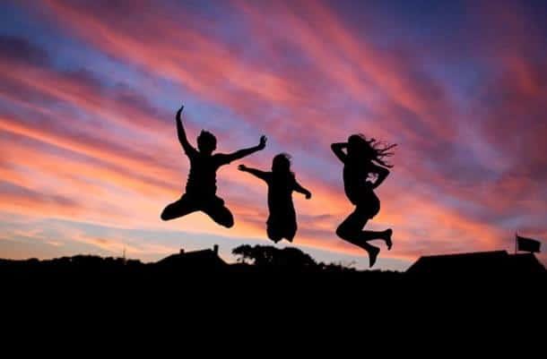 Jumping forward