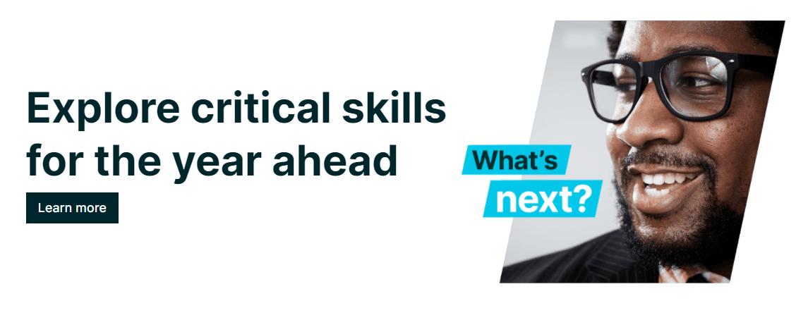 Learning critical skills on the edX educational platform