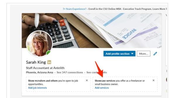 LinkedIn Open for Business