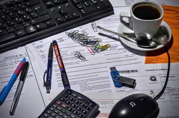 Messy paperwork