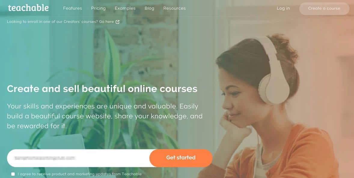 Selling your own courses on Teachable