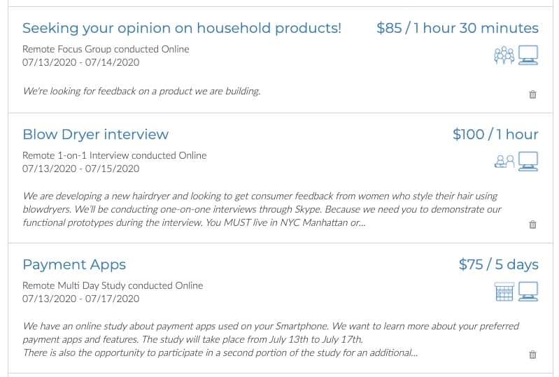 User Interviews Examples