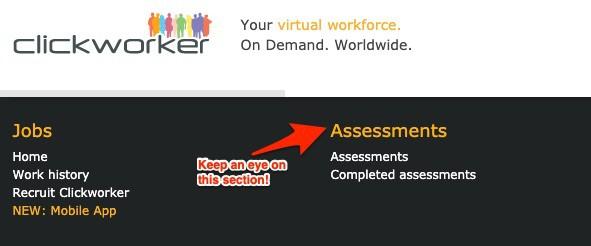 Clickworker Assessments