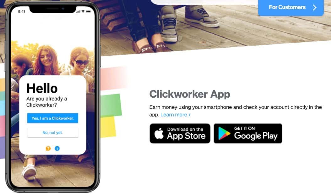 Clickworker app