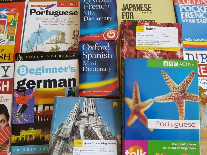 Language books