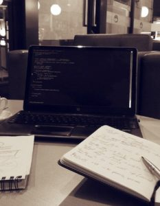 Be a better freelancer - laptop scene