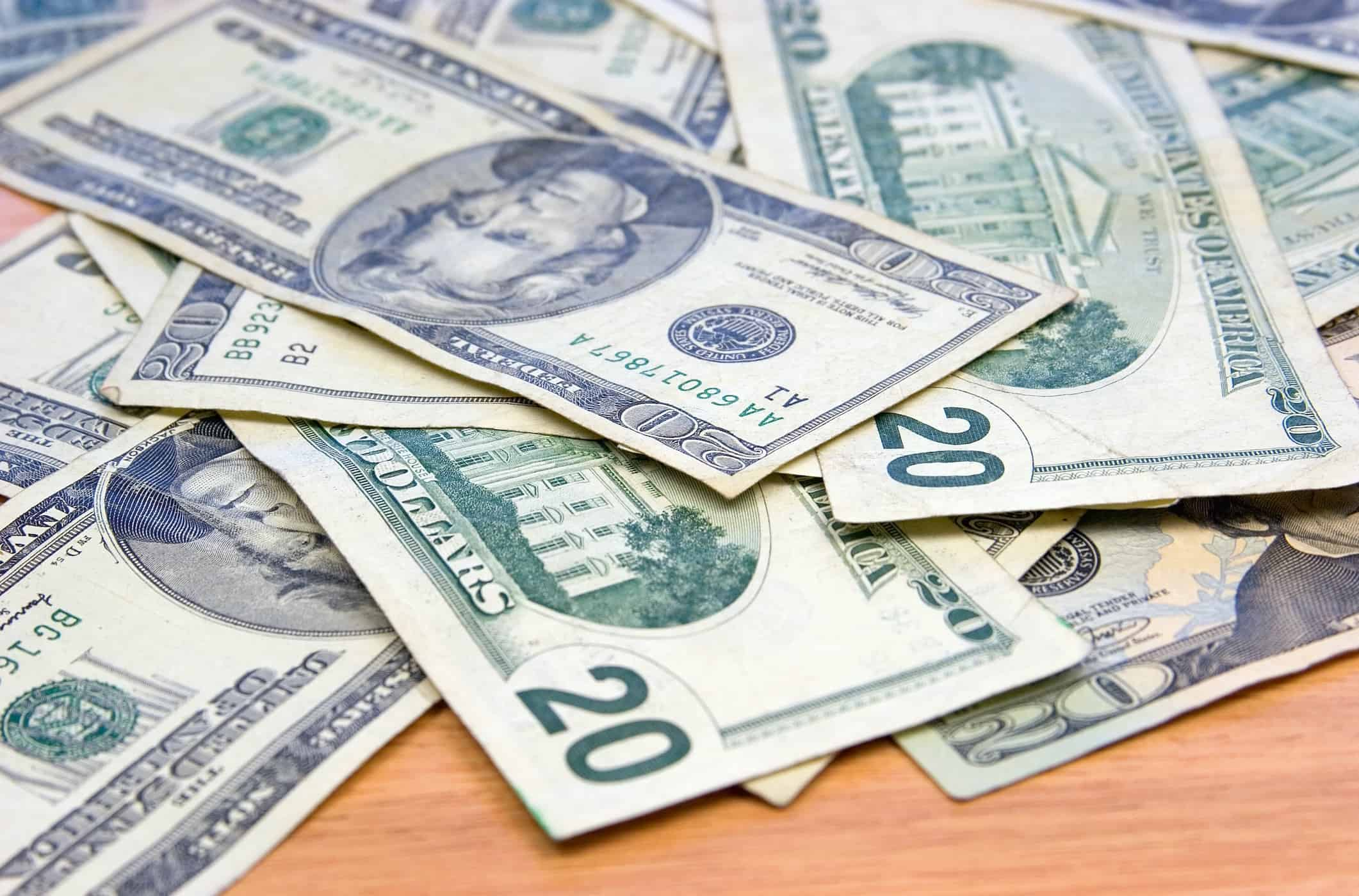 Money - freelance earnings