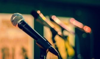 Speech writing microphone