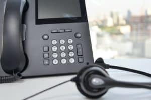 Call centre phone