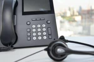 Call centre phone