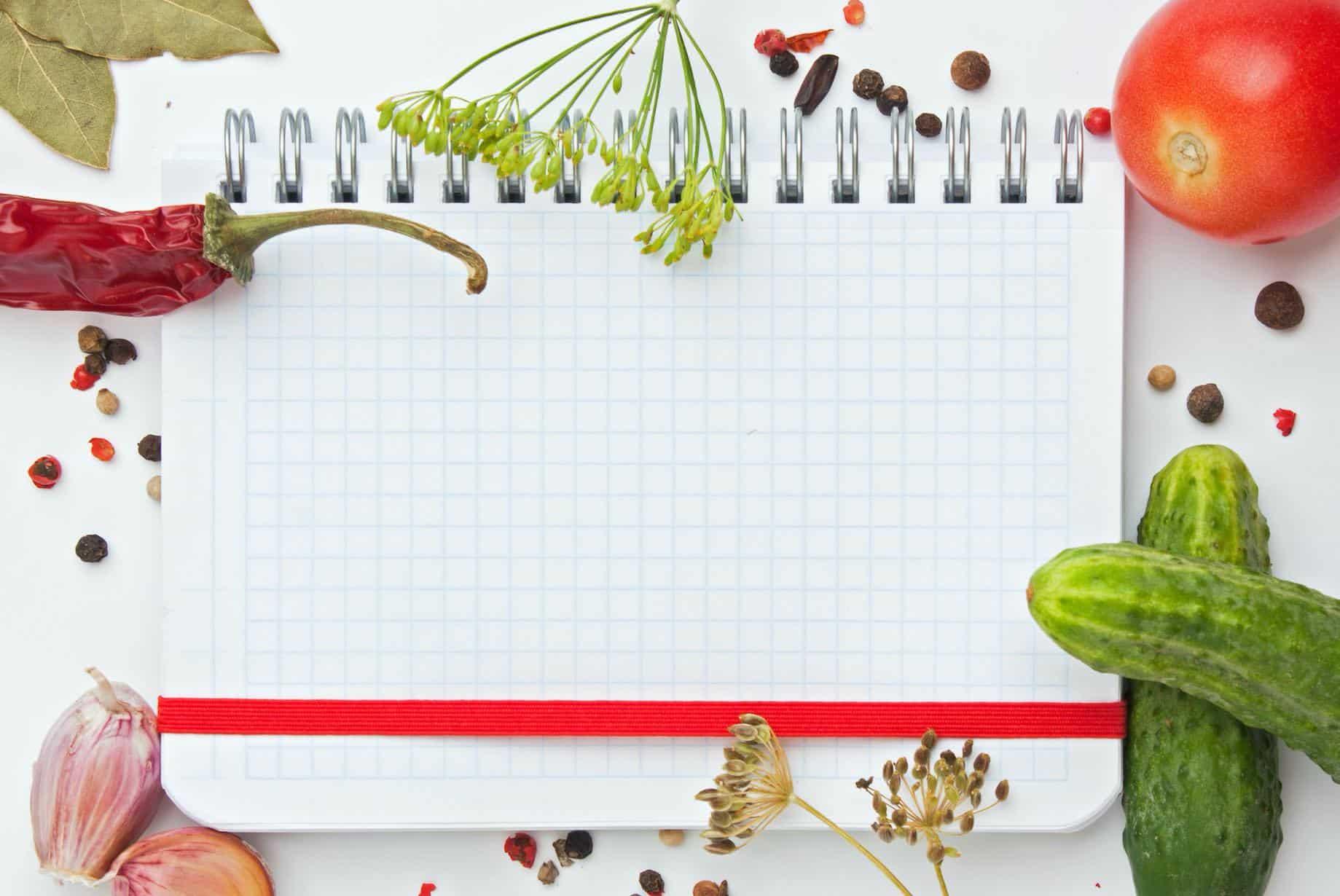 Recipe blogging