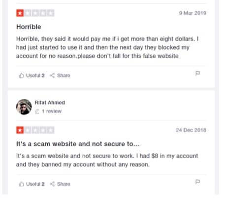 RapidWorkers Complaints