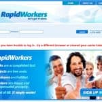 RapidWorkers Website