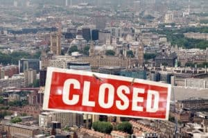 Closed London - Is this the future of work