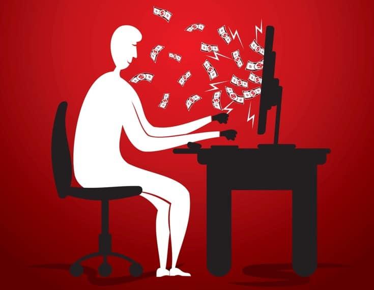Earning money from online side jobs