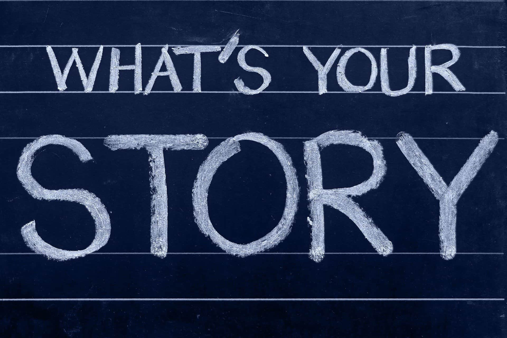 Image to remind readers that the interviewer wants to hear their story