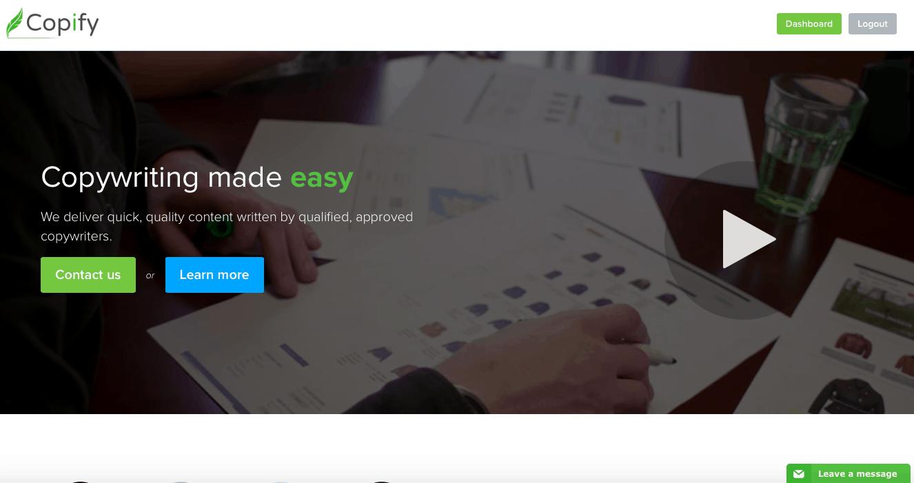 Copify Website