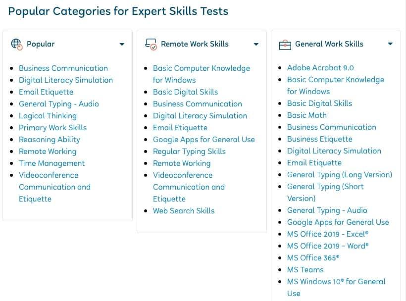 Flexjobs Skills Tests