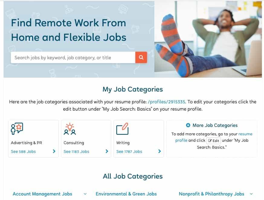 Job postings search